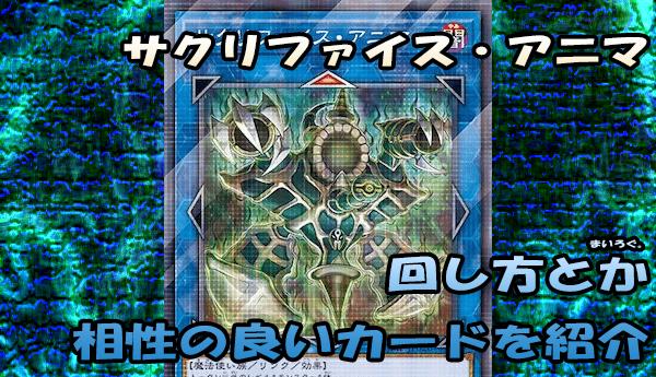 【サクリファイス・アニマ デッキ紹介】回し方・相性の良いカードを色々と紹介!
