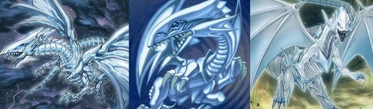 【青眼の白龍】デッキのモンスターカード達
