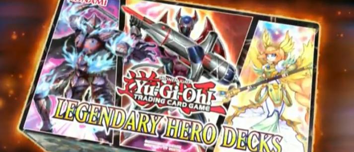 【Legendary Hero Decks】収録カードと判明したカード効果まとめ!幻影騎士団にHEROなど新規カードが盛りだくさん!