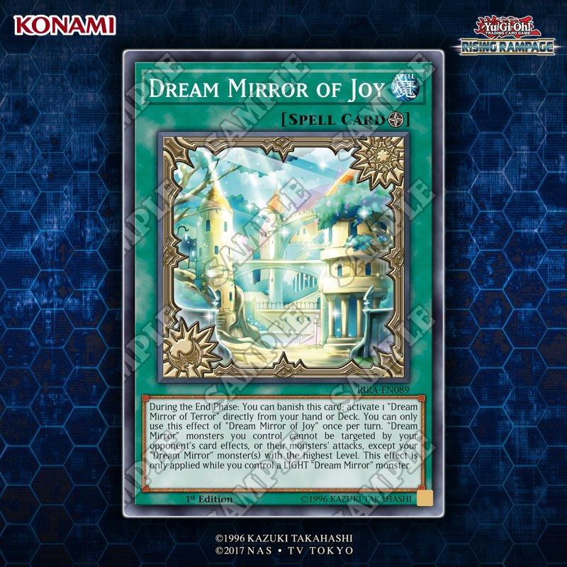 【遊戯王 DreamMirrorof Joy】新規ドリームミラーの魔法カードの詳細が判明!