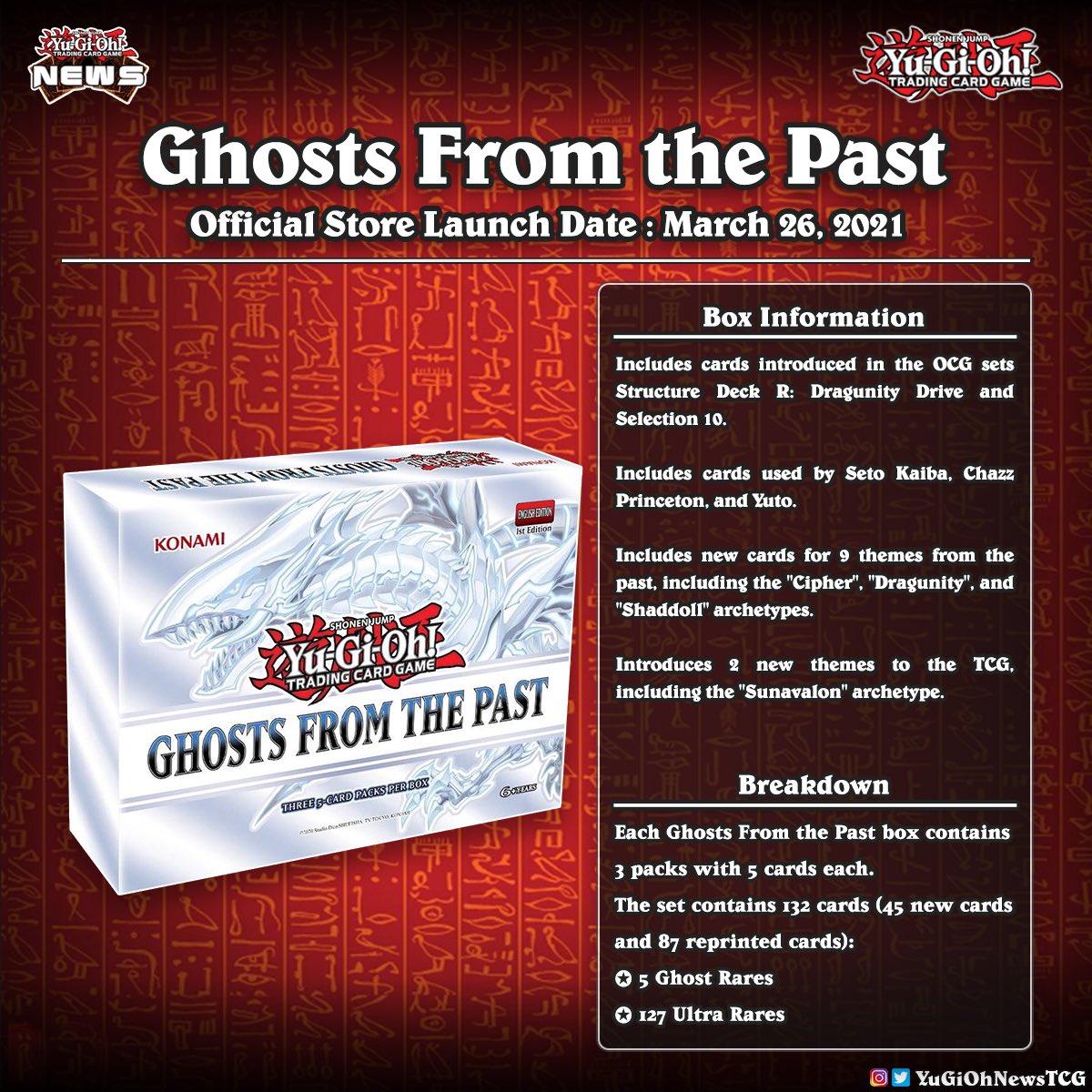 【#遊戯王】GHOSTS FROM THE PASTの商品詳細判明!