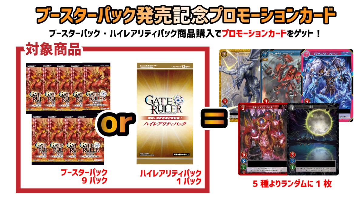【ゲートルーラー プロモ】プロモカードと最新情報まとめ!