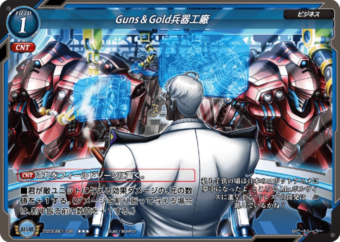 【Guns&Gold兵器工廠】