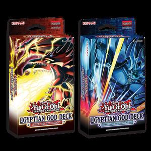 Yu-Gi-Oh! TRADING CARD GAME Egyptian God Deck: Slifer the Sky Dragon & Egyptian God Deck: Obelisk the Tormentor