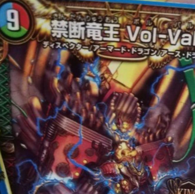 禁断竜王 Vol-Val-8デッキ