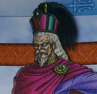デルカダール王の顔