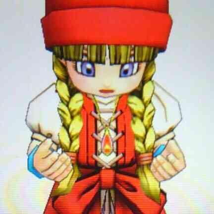 ネックレスをつけたベロニカの幼女姿