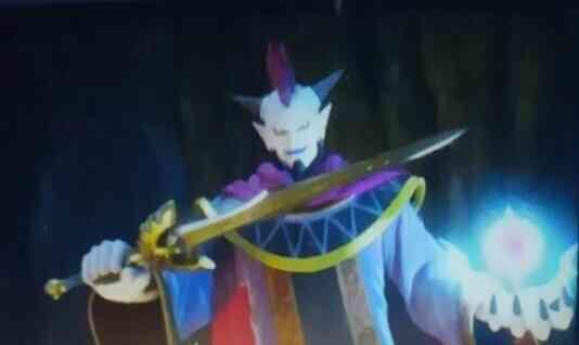 ウルノーガが手にした勇者の剣・真