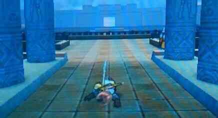 ルーラで天井に頭をぶつける勇者