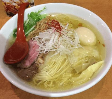麺屋翔塩ラーメン