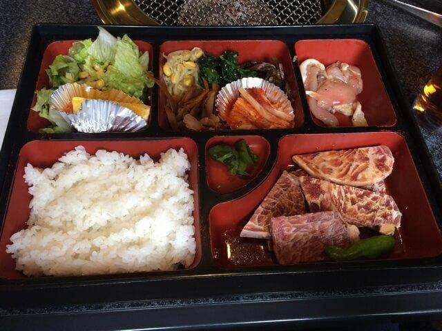 六歌仙 新宿焼肉ランチ