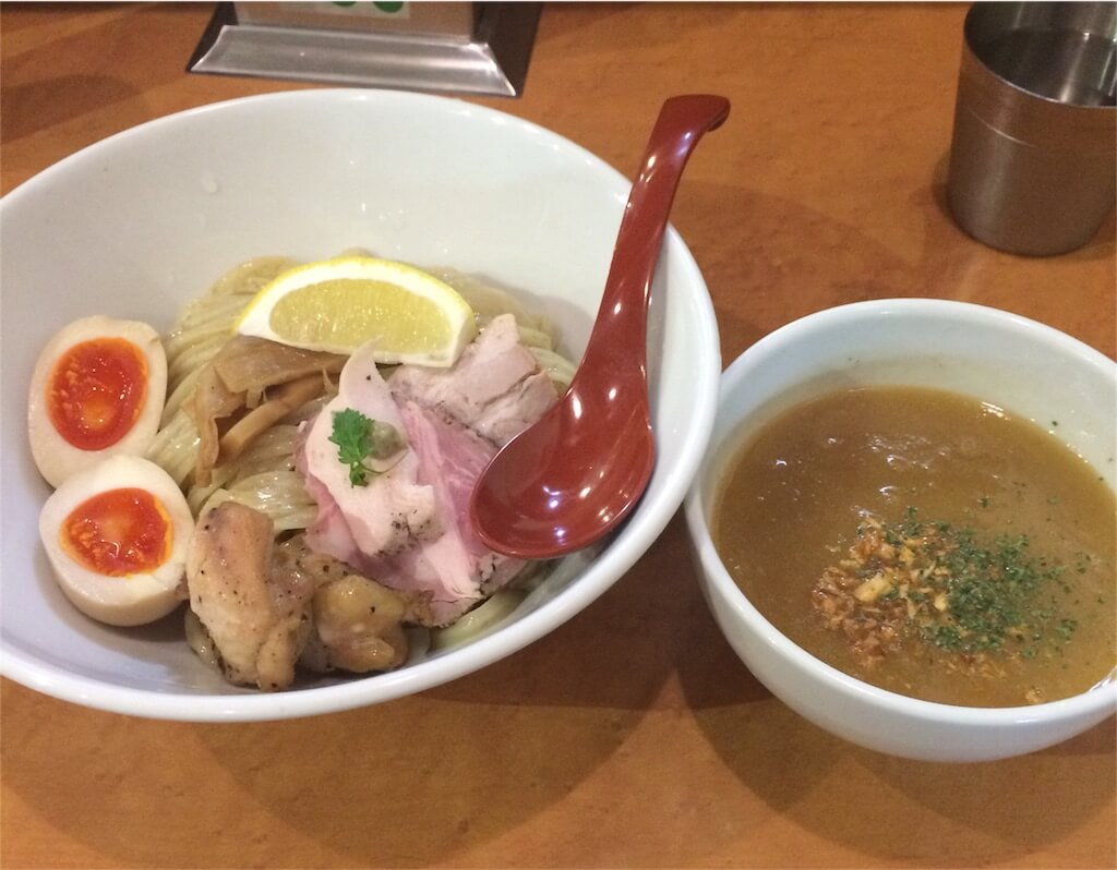 麺屋翔新宿鶏白湯つけ麺