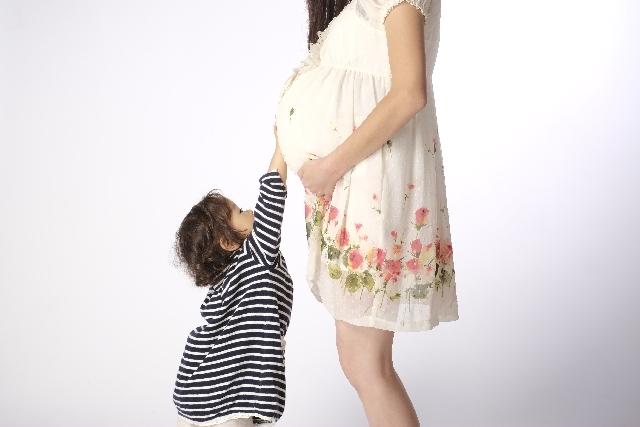 妊婦と子供