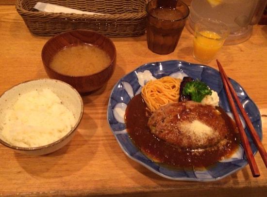 山本のハンバーグ渋谷食堂