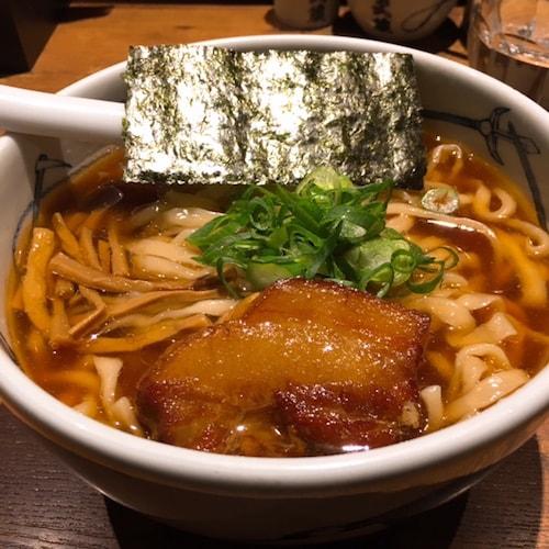 麺屋武蔵本店角煮ラーメン