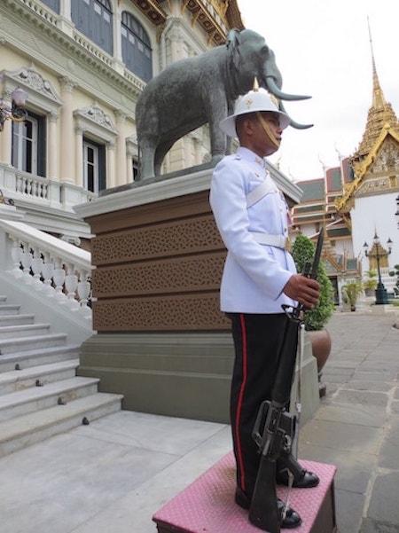 バンコク王宮兵士