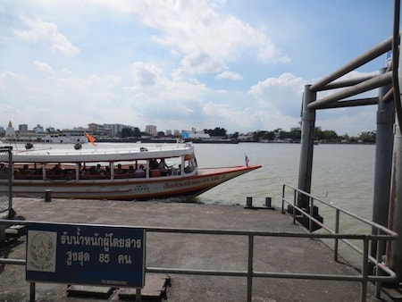 タイチャオプラヤーエクスプレスボート