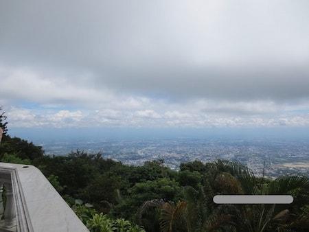 ドイステープ頂上からの景色