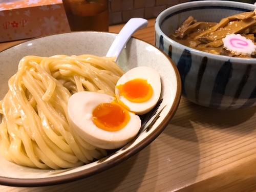銀座朧月(おぼろづき)つけ麺