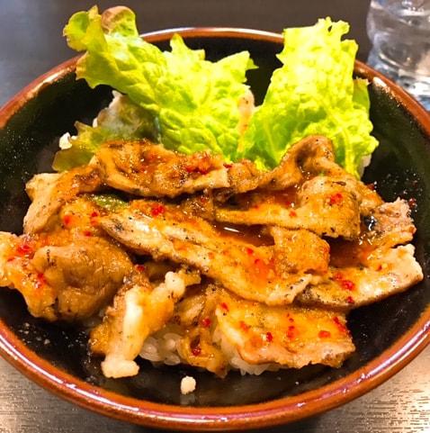 焼肉丼たどん 秋葉原ディナー