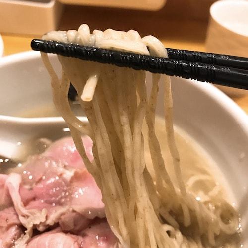錦糸町真鯛ラーメン麺魚麺