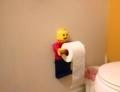 LEGO トイレットペーパーホルダー