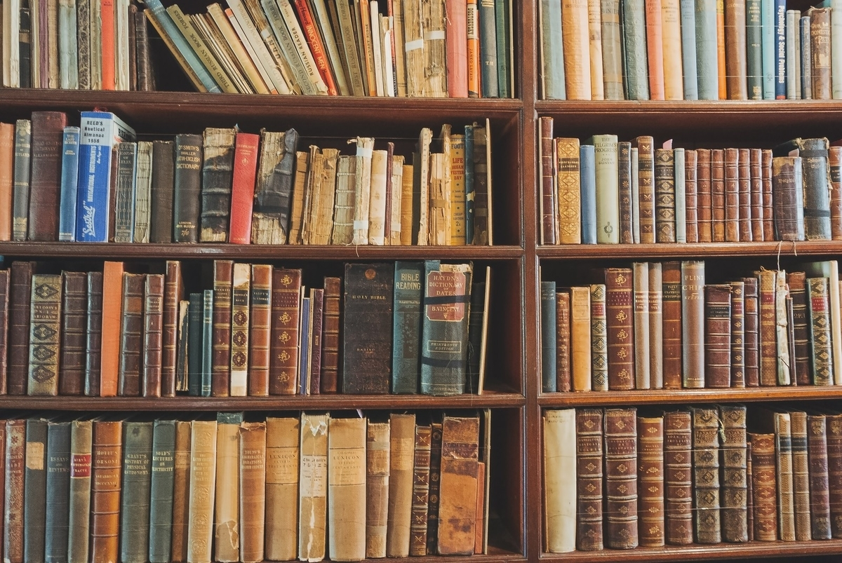 勉強のための本棚