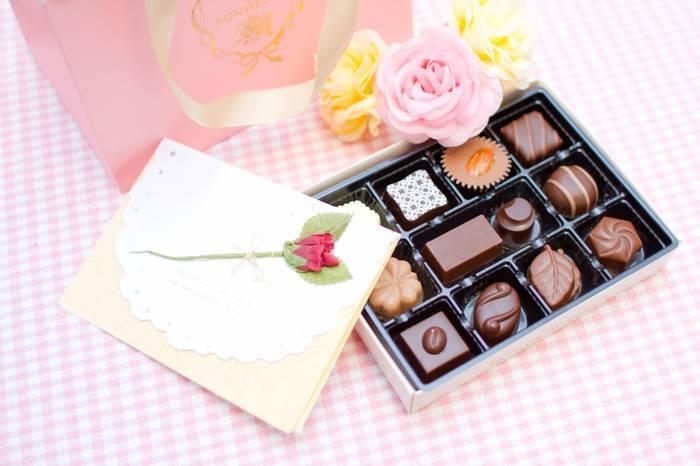 バレンタインのチョコと手紙