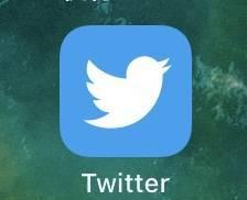 バッジ通知の消えたTwitterアイコン