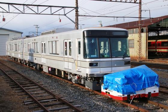 長野電鉄3000系(東京メトロ03系)第2陣が須坂へ - ガタゴト日誌