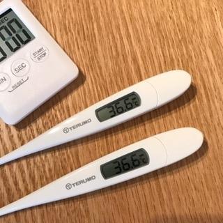 水素酸素吸入前後の体温を計ってみてください