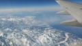 ニセコへ 飛行機から