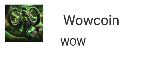 Wowcoin
