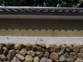 東福寺界隈 瓦模様の影