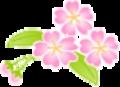 葉桜イラスト