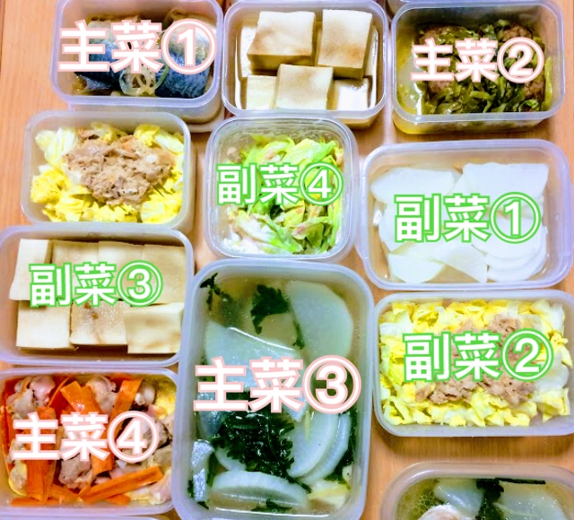 作り置きダイエット