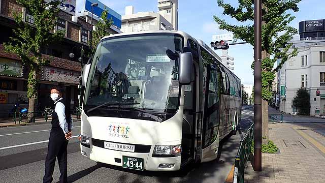 ツアー観光バス