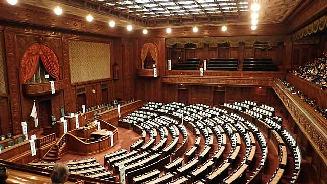 衆議院会議室