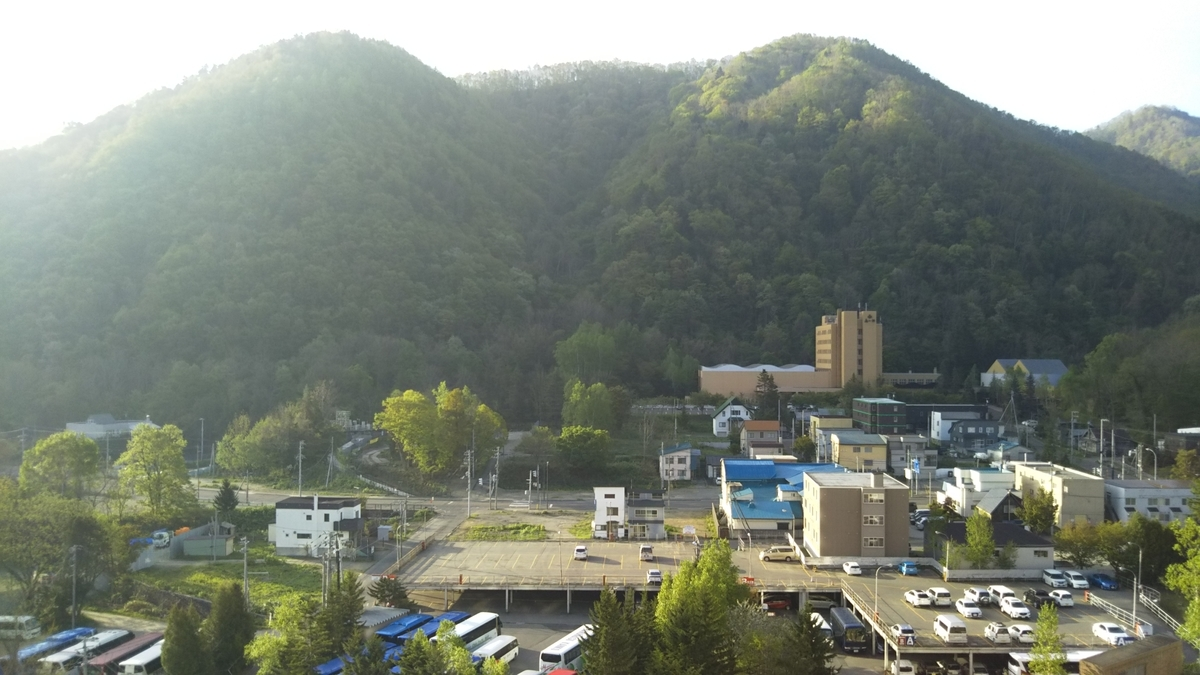 定山渓ビューホテルの朝