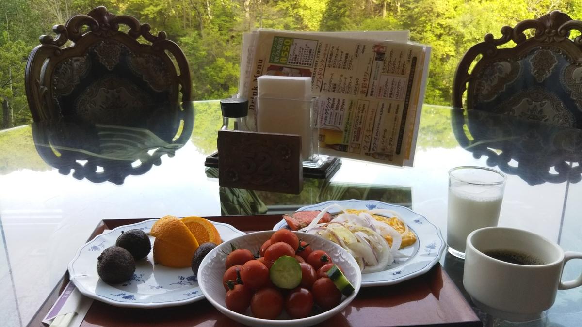定山渓ビューホテルの朝食