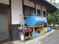 蛇口は新品に交換して頂き、上部に危険防止用排水口をつける