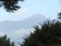 梅雨明け翌朝の常念岳