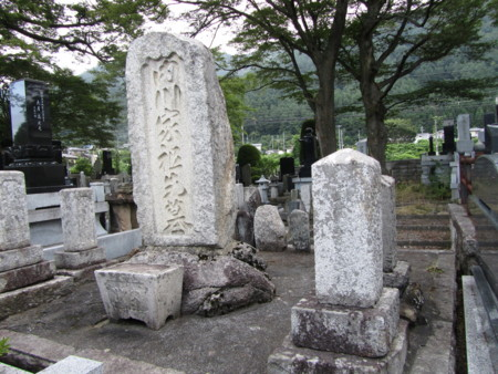 我一族一グループ先祖の墓も清掃して‥