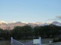 幅下田へ行く途中で‥常念岳〜有明山の眺望は‥いかがでしょう