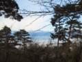標高900mからの眺望‥北アルプス、眼下は霧に