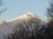 北アルプスの常念岳‥朝陽が昇ると
