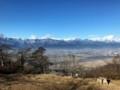 標高900m山頂の故峯神社から