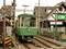 江ノ島駅に到着する江の電