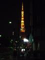 [東京タワー]五輪招致ライトアップ