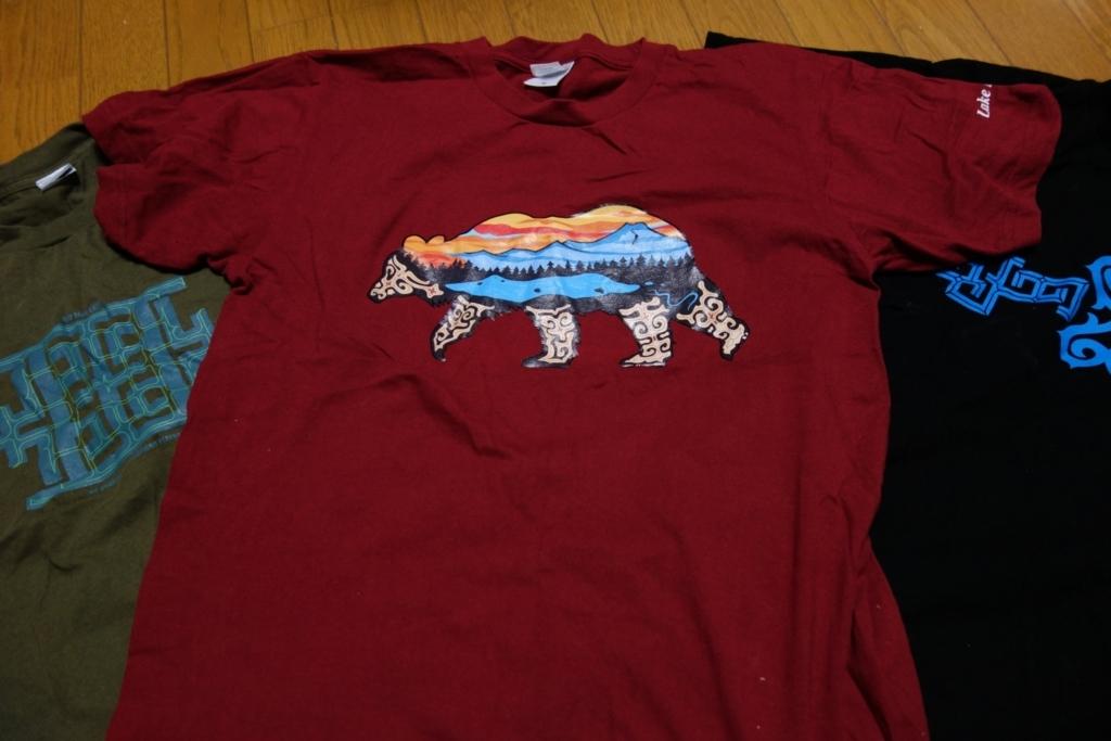 アイヌ風Tシャツ